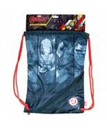 NEW Avengers Drawstring Bag Backpack Iron Thor Captain Hulk School Boy Girl - $15.68