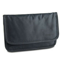 Travelon Safe ID (RFID Blocking) Nylon Boarding Pouch-Off Black, (Style ... - $8.77