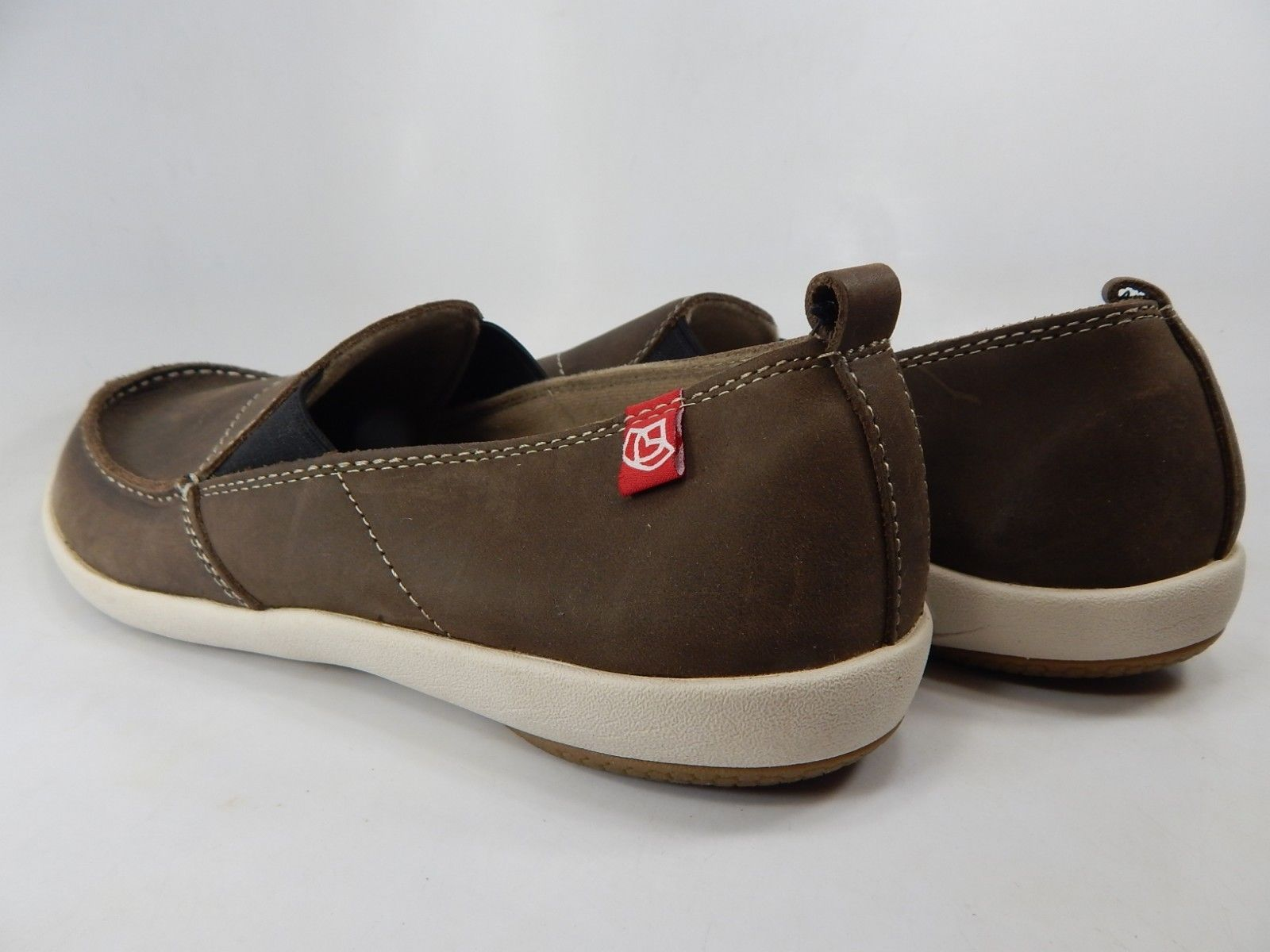 Spenco Siesta Size US 9 M (D) EU 42.5 Men's Slip On Casual Shoes Chocolate Brown