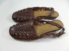 Natural Soul By Naturalizer Women's Brown Comfort Sandals,  Sz 8M  - $23.03