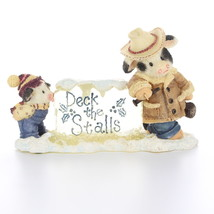 """Enesco Mary Mary Had A Farm #273406 1997 """"A Chip of the Old Block"""" Cow and Calf  - $22.49"""