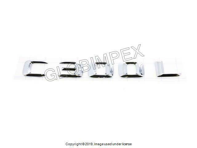 CLS500//S500//SL500 Mercedes Benz SL500 CLS500 Genuine Emblem Trunk Insignia