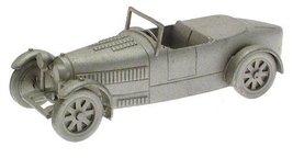 Danbury Mint authentic scale replica pewter car Bugatti Type 43 1928 - $38.21