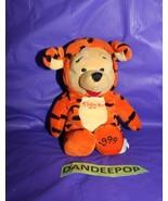 Walt Disney Store And Parks Mini Bean Bag Winnie The Pooh Costume As Tig... - $11.87