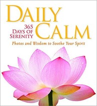 Daily Calm: 365 Days of Serenity [Hardcover] National Geographic image 3