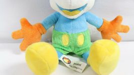"""Disney Parks 10"""" Blue Yellow Mickey Mouse Stuffed Plush Toy With Original Tags image 6"""