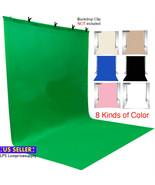 Fabric Photography Backdrop Background, Chromakey Seamless Solid Backgro... - $39.55+