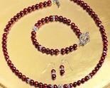 Smithsonian50140scrimsonfreshwaterpearljewelryset thumb155 crop