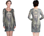 Retro art photoshop action long sleeve night dress thumb155 crop
