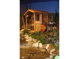 Red Cedar She Shed - 6 x 12ft - Floor + Sliding Door + Porch + Windows +... - $5,924.00