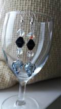 Swarovski crystal Skulls earrings Wedding jewelry Gift for her Crystal earrings  image 2