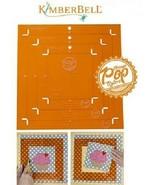 Orange Pop Ruler Square Set KimberBell Designs # KDTL101 - $49.45