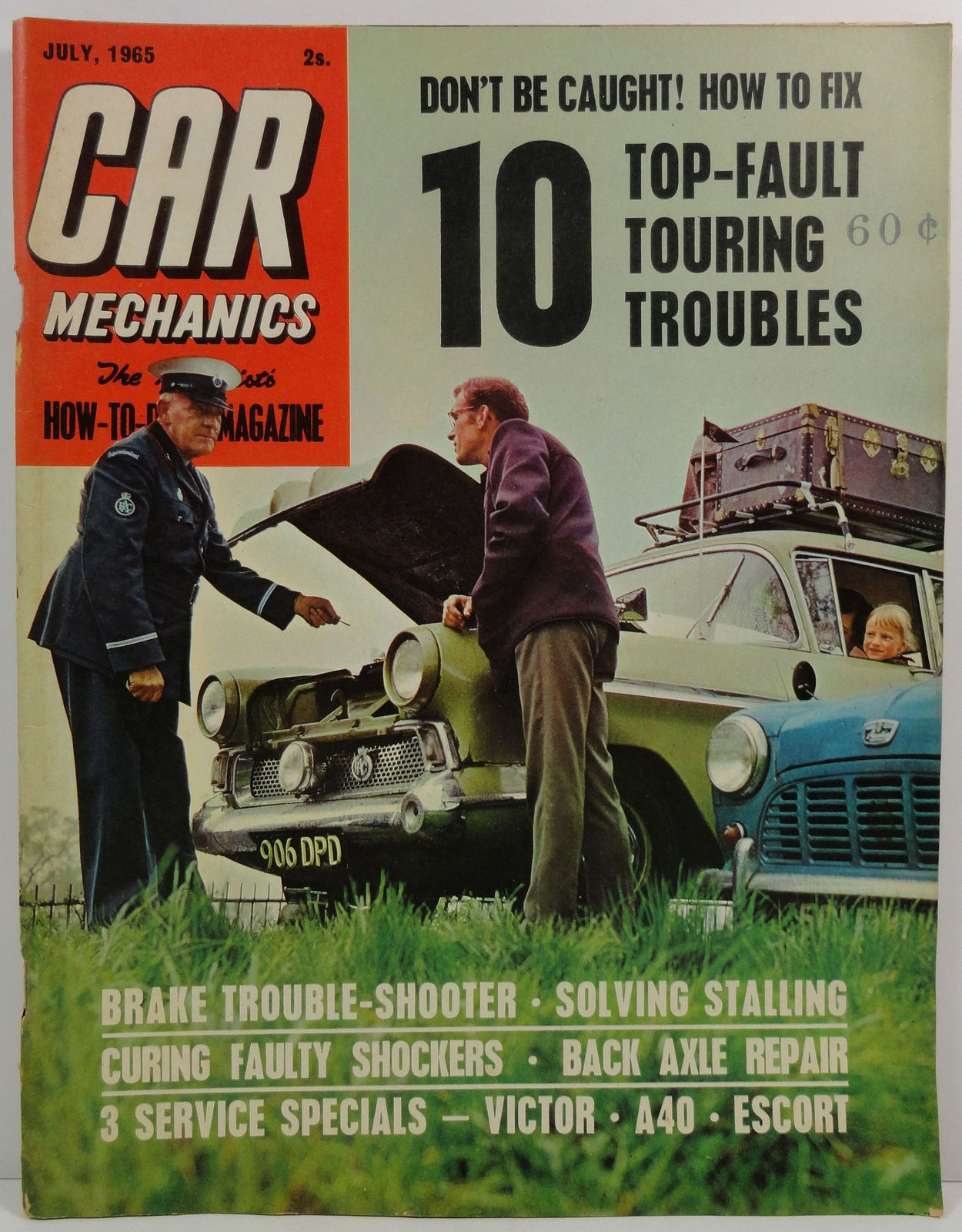 Car Mechanics Magazine July 1965 A Mercury House Publication