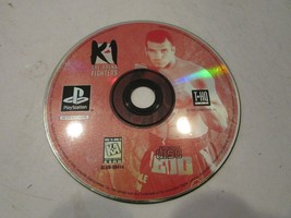K-1: The Arena Fighters (Sony PlayStation 1, 1997) DISC ONLY  - $4.95