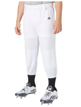 Neuf Adidas Jeunes Triple Rayure Tractions Pantalon Baseball T-Ball Uniforme - $7.02