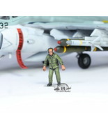 USAF Ground Support Crew 1:72 Pro Built Model #1 - $14.83