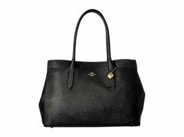 Coach Womens Bailey Carryall in Crossgrain Leather (Black) - $295.00