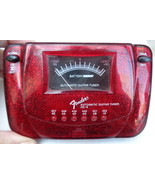 Fender Automatic Guitar Tuner AG-6 Red Glitter Sparkle - $12.99
