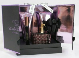 Victoria's Secret SCANDALOUS 4pc Set: 1.7 EDP Perfume, Lotion, Wash,Roll... - $107.91