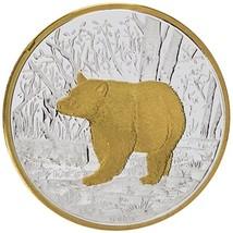 Alaska Mint Silver Black Bear Medallion Proof 1Oz - $86.12