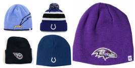 NFL Men's Knit Beanie Winter Hat One Size Licensed