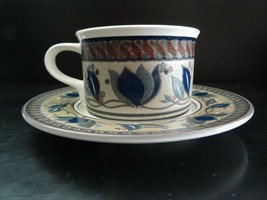 Mikasa Intaglio Arabella Cup and Saucer Set CAC01 Never Used Casual Gift... - $18.68