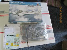 Italeri FW-189 A-1 1/72 scale - $29.99