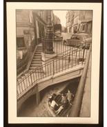 WILLY RONIS Photograph Belleville Paris1959 9x12 Lithograph Portfolio Print - $23.19