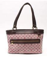 Auth Louis Vuitton Lucille Monogram Handbag Multi Pink Front Pocket LVB0546 - $455.40