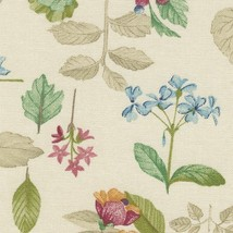 Longaberger Buffet Botanical Fields Fabric Over The Edge Basket Liner - $12.82