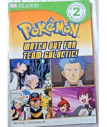 DK Reader Level 2 Pokemon: Watch Out for Team Galactic! (DK Readers) - $14.01