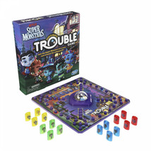 Trouble Super Monsters Edition Collector Card Board Game Kids Family Friend Play - $50.20