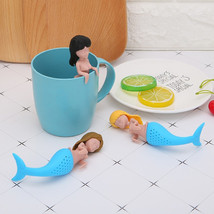 funny Silicone Little Hanging Man Tea Strainer Life Partner Cute Mister ... - $9.99