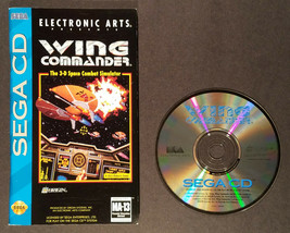 Wing Commander (Sega CD 1994) Disc and Manual Only - $27.00