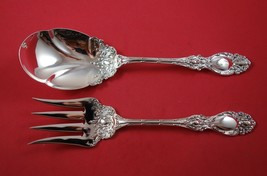 Lucerne by Wallace Sterling Silver Salad Serving Set 2pc All Sterling Or... - $359.00