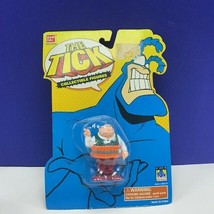 The Tick action figure mini Bandai 1994 Fox moc sealed vintage retro Dyn... - $28.87