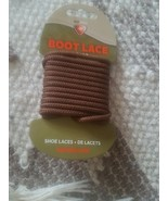 Boot Lace 60 in/152 cm Brown - $17.57