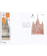 2012 Spain  Sg MS4727 Sheets Cathedral of Barcelona Cathedrals, Churches... - £7.32 GBP