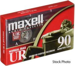 Maxell Dictado & Audio Casete, Normal Bias, 90 Minutos (45 x 2) - $4.94