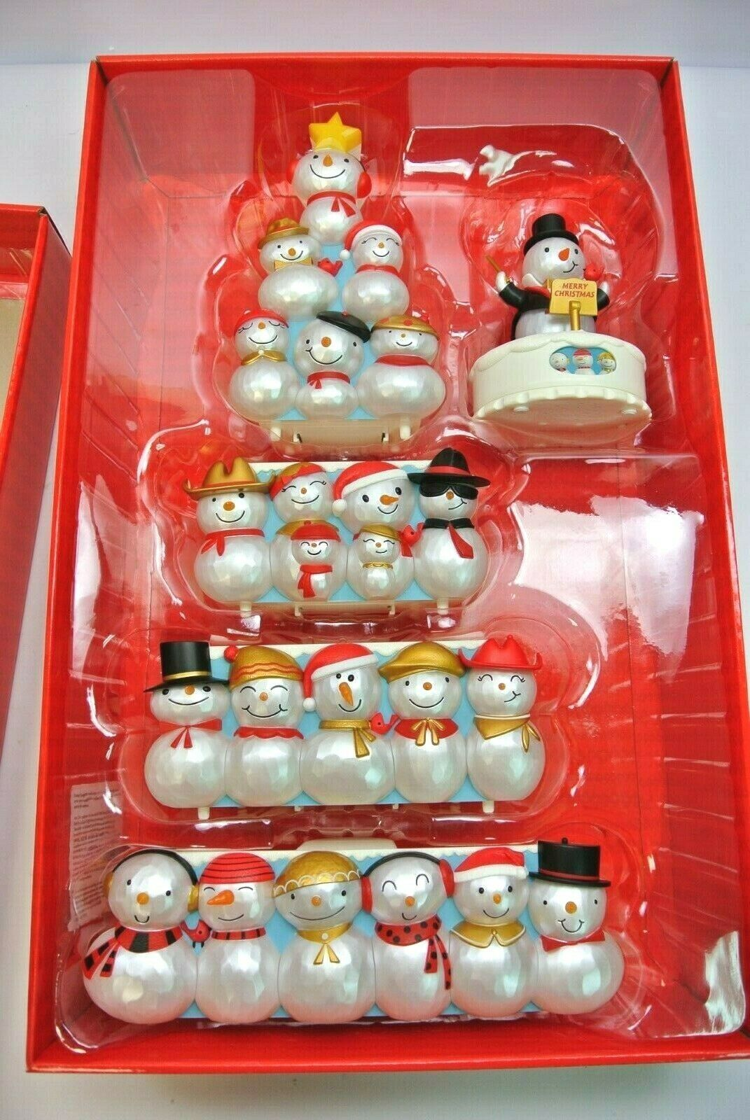 Hallmark Christmas Concert Snowmen Collector's Set Special Edition - Repaint image 4