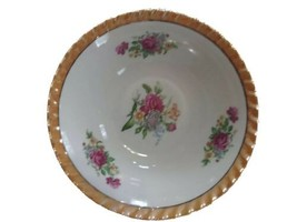 Yamatsu Bowl, 9 Inches, Made In Japan roses vintage - $22.99