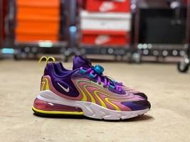 Nike Air Max 270 React Womens Shoes ENG Eggplant Flamingo (CK2595-500) N... - $99.00