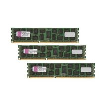 Kingston - Memory - 24 GB : 3 x 8 GB - DIMM 240-pin - DDR3 - 1333 MHz / ... - $142.91