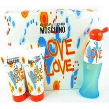 Moschino Cheap And Chic I Love Love 3 Piece Gift Set - $99.97