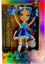 Rainbow High Cheer Skyler Bradshaw – Blue Cheerleader Fashion Doll with Pom Poms - $29.69