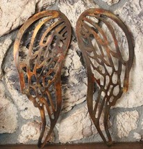 """Angel Wings Copper/Bronze Plated Metal Wall Decor  large 30"""" tall - $114.83"""
