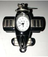 JQ JQ Black&silver Airplan Pendant Watch - - $19.80