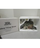 DEPT 56 58304  HERITAGE VILLAGE - CROOKED FENCE COTTAGE - WITH CORD  D15 - $22.49