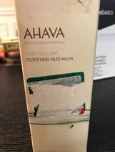 Ahava Time to Clear Purifying Mud Mask, 4.4 Oz NIB - $11.64