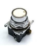 Cutler Hammer 10250T White Pushbutton Switch - $13.99